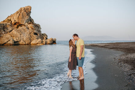 Love story photo shoot in Malaga