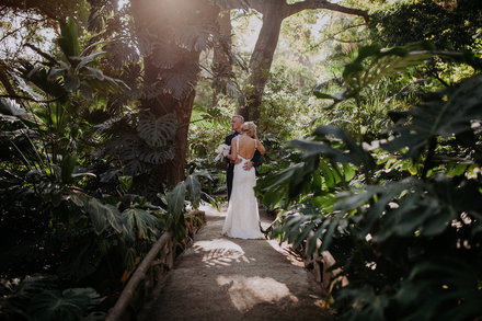 Wedding in the Botanical Garden of Malaga